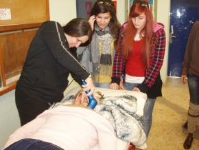 PHYSIOTHERAPY STUDENTS TRAINING WITH SQOOM CLINICAL