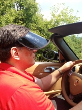 Driving a cabrio? Dr Serene's Sunvisor is a must! www.dlux.gr